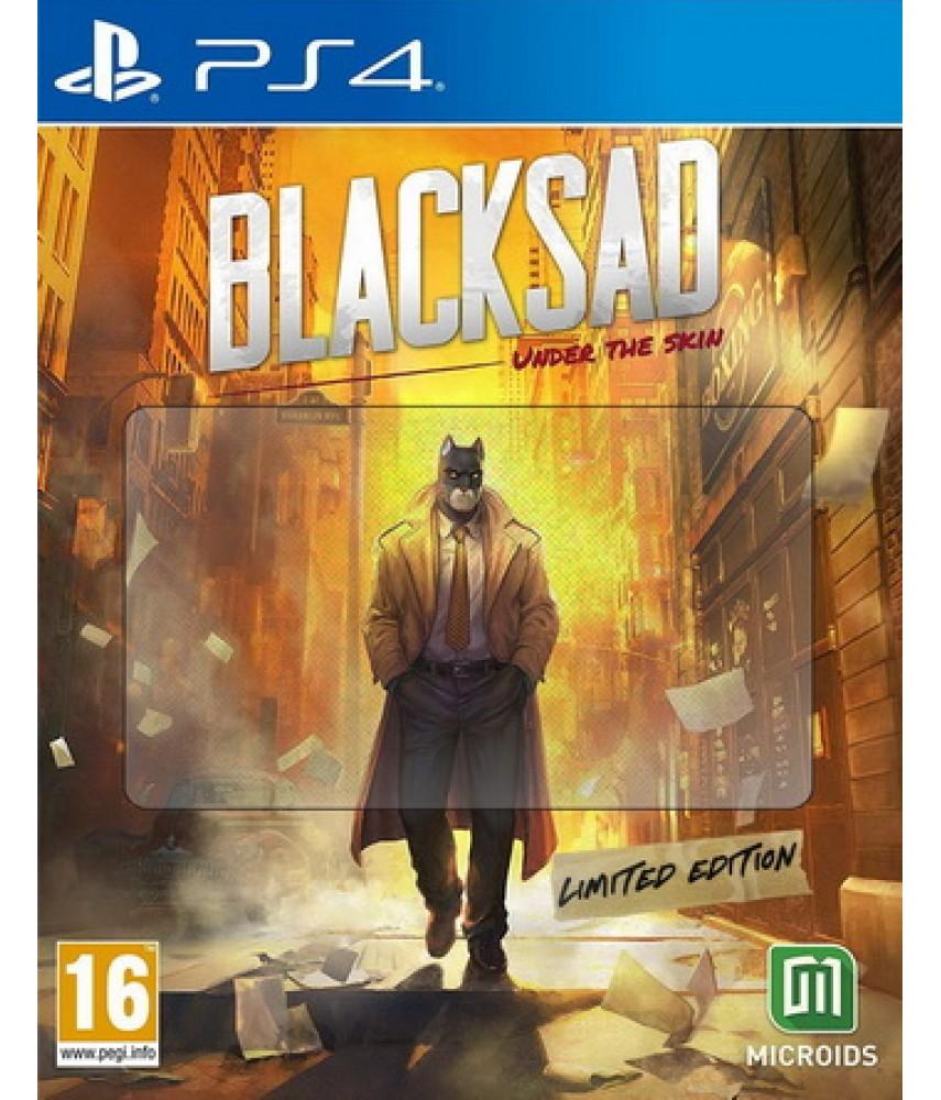 Blacksad Under The Skin Limited Edition (Русская версия) [PS4]
