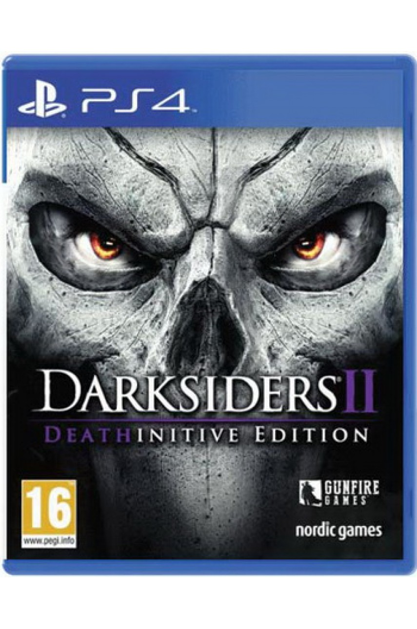 PS4 игра Darksiders 2 Deathinitive Edition (Русская версия)