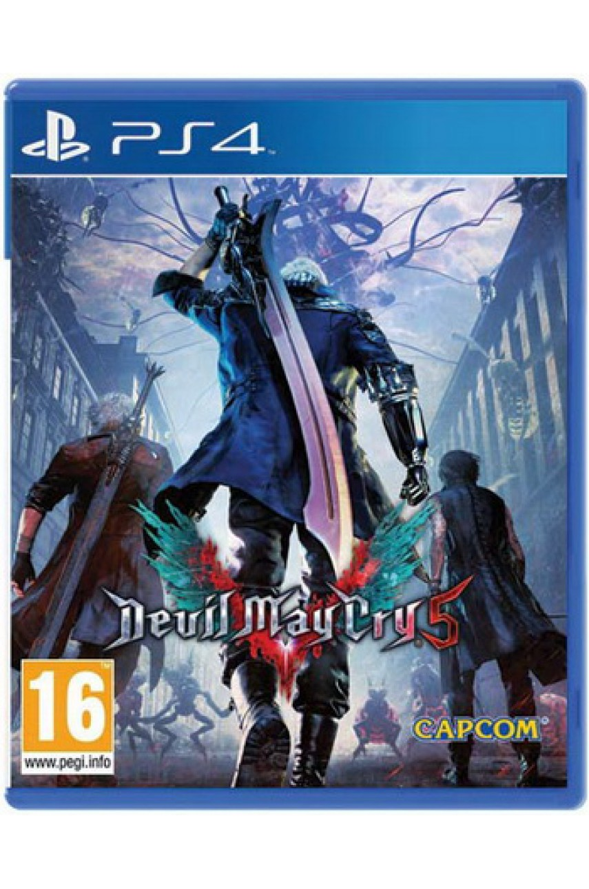 Devil May Cry 5 (Русские субтитры) [PS4]