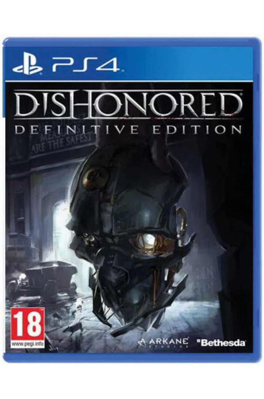 Dishonored Definitive Edition [PS4] - Б/У