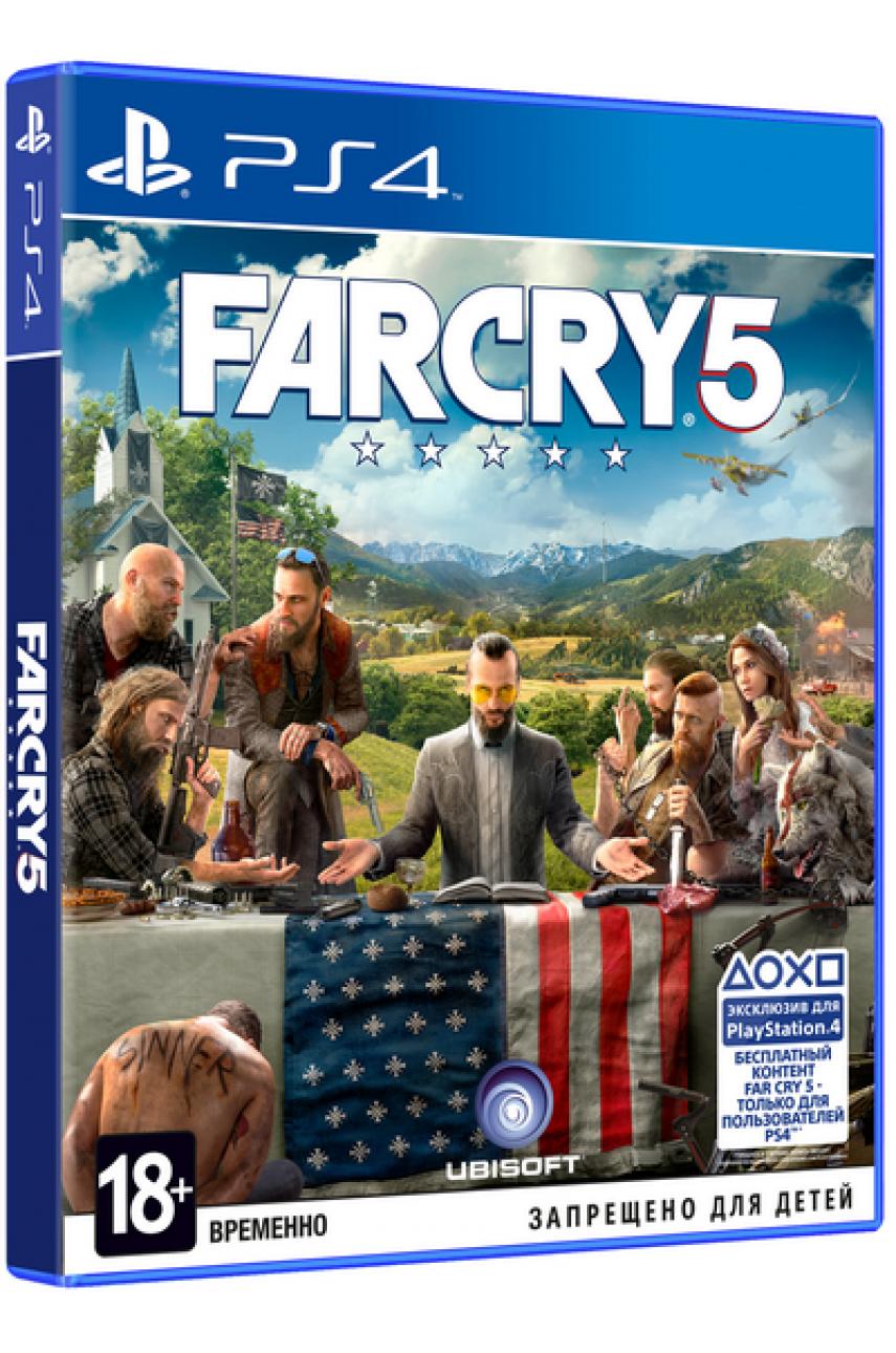 Far Cry 5 (Русская версия) [PS4]