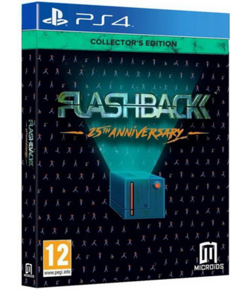 Flashback - 25th Anniversary - Collector's Edition [PS4]