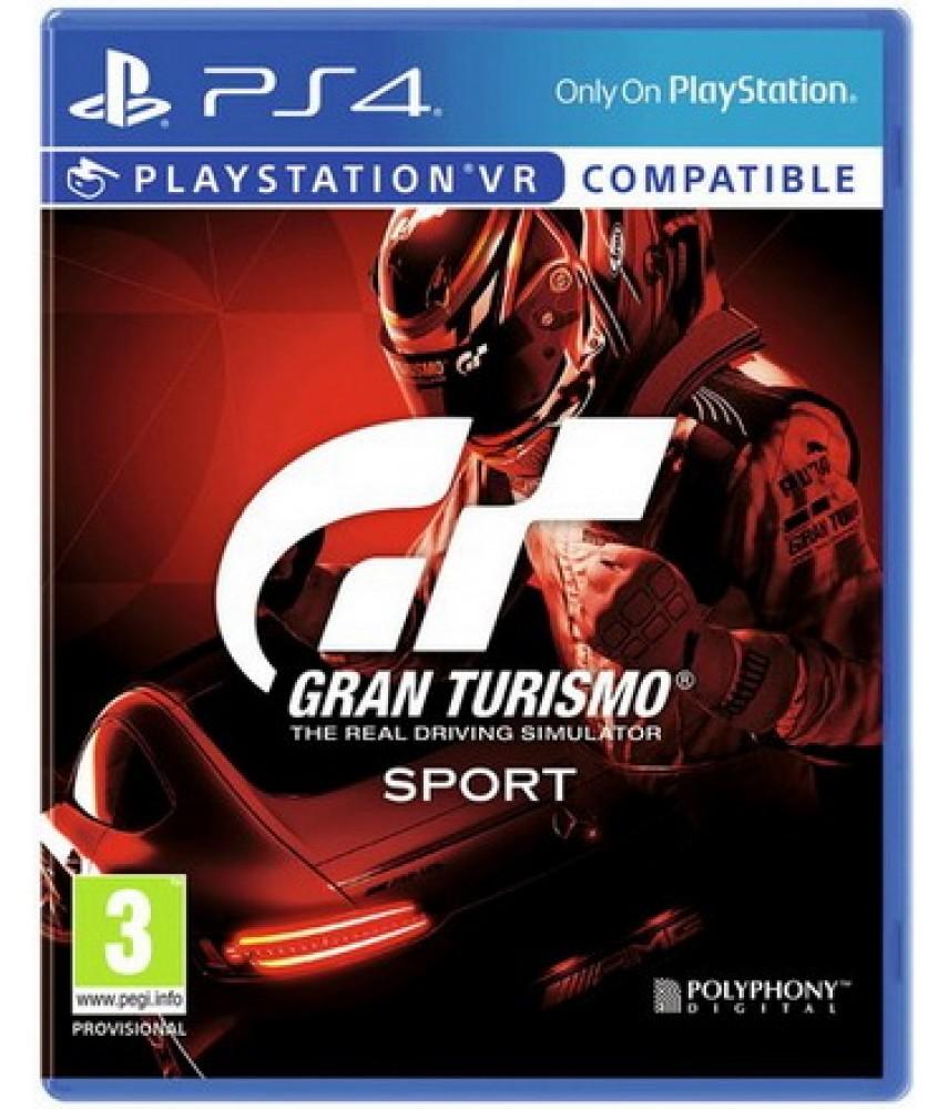Gran Turismo Sport [PS4] - Б/У