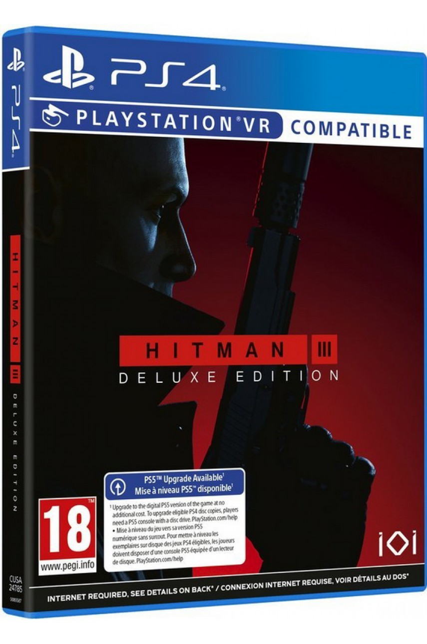 Hitman 3 (III) Deluxe Edition [PS4] (совместима с PS5)