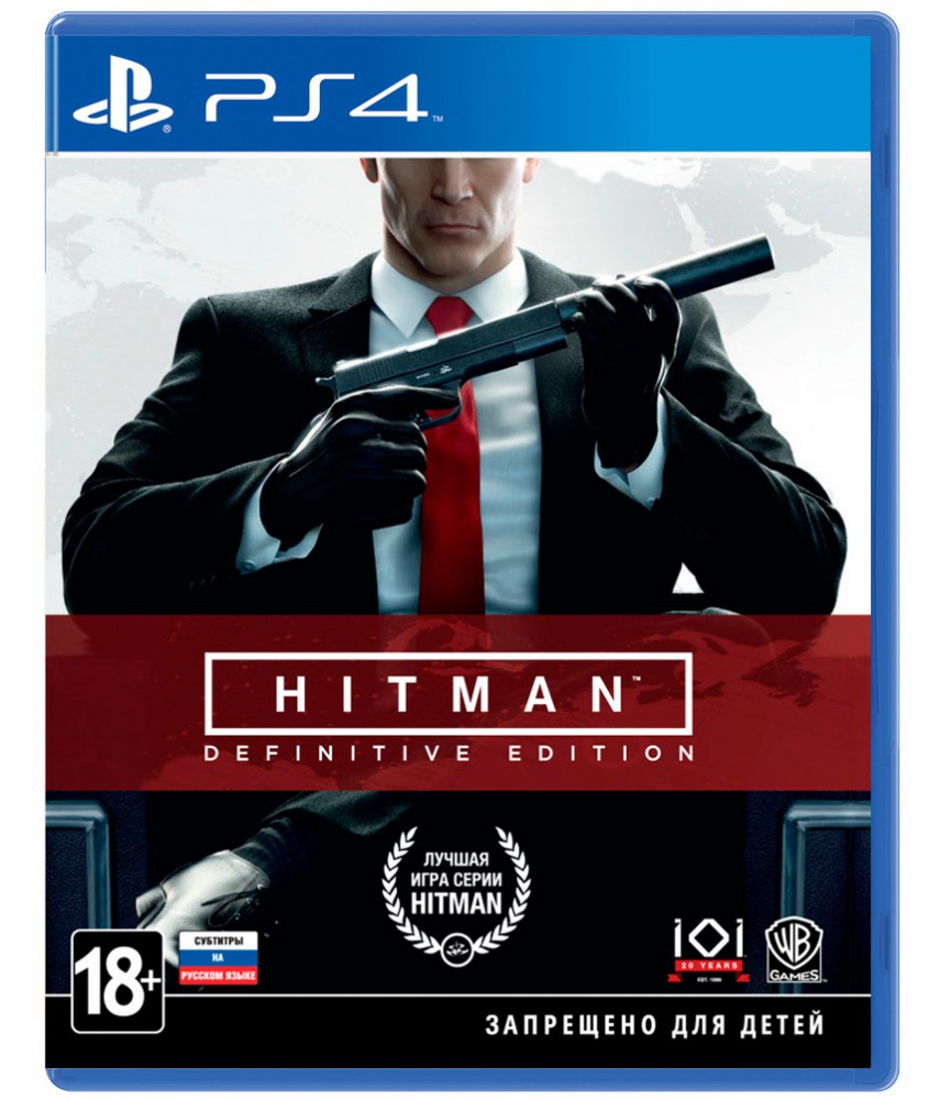 HITMAN: Definitive Edition (Русские субтитры) [PS4]