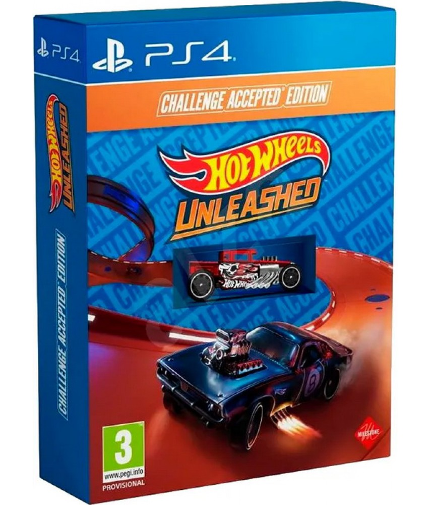 PS4 игра Hot Wheels Unleashed - Challenge Accepted Edition (Русская версия)