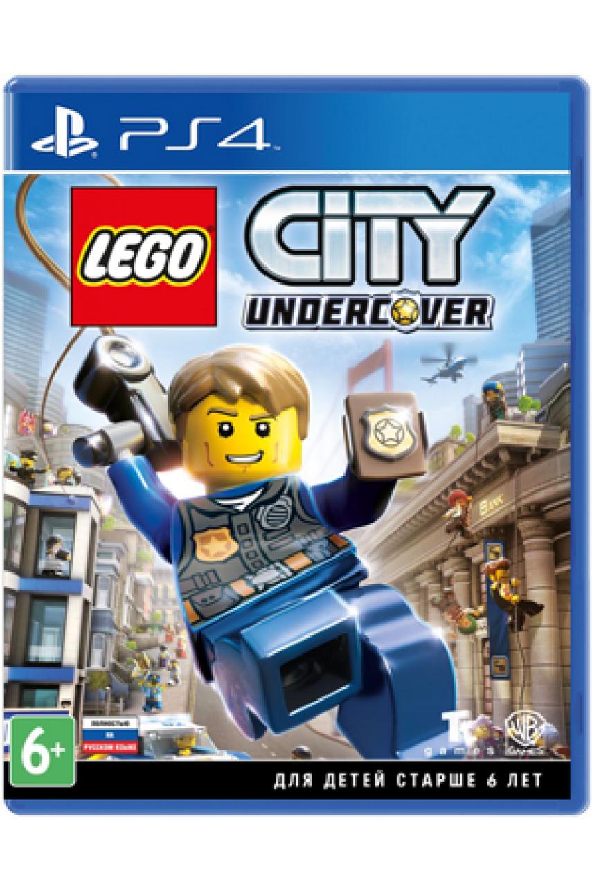 LEGO City Undercover (Русская версия) [PS4] - Б/У