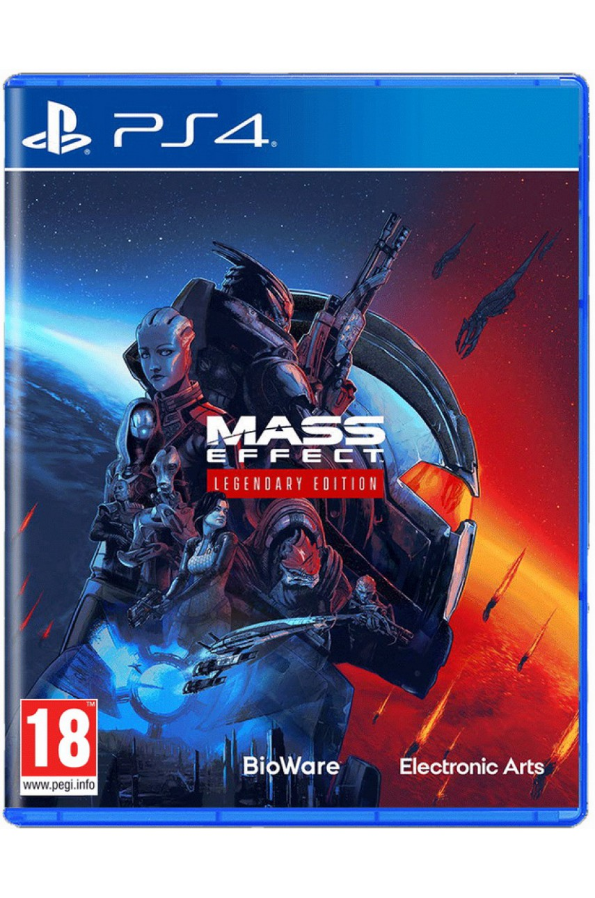 PS4 игра Mass Effect Legendary Edition (Русские субтитры)