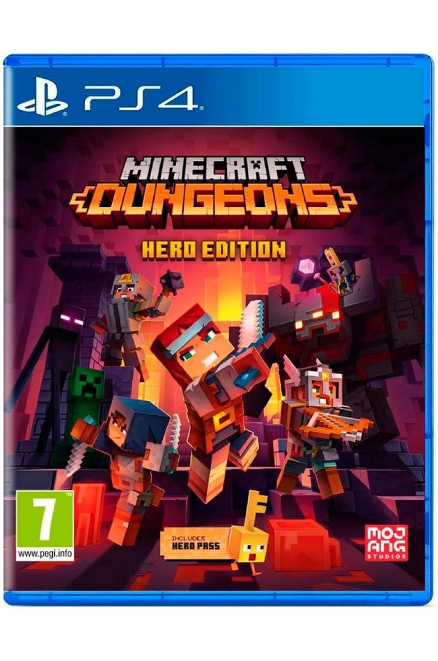 Minecraft Dungeons Hero Edition (Русские субтитры) [PS4]