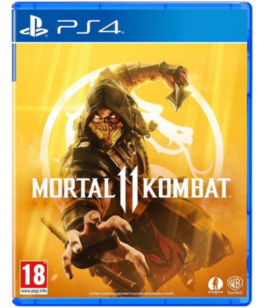 Mortal Kombat 11 (Русские субтитры) [PS4]