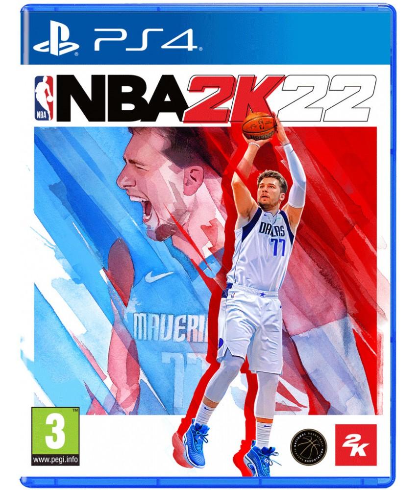 PS4 игра NBA 2k22