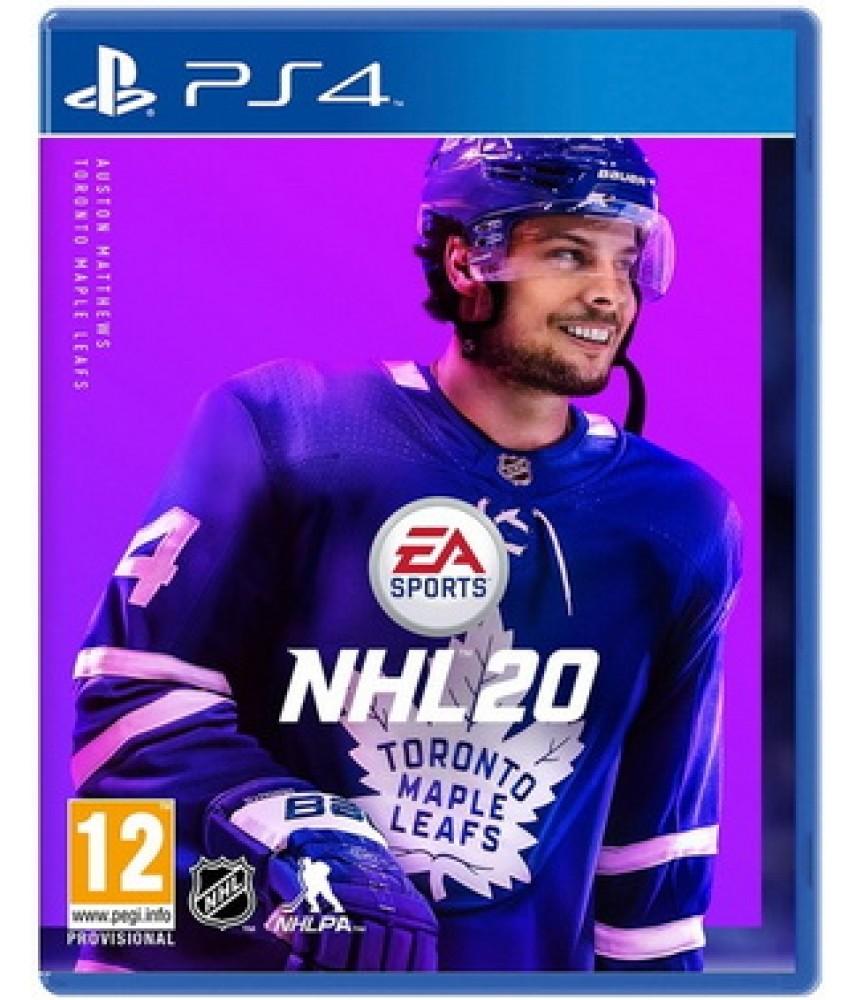 NHL 20 (Русские субтитры) [PS4]