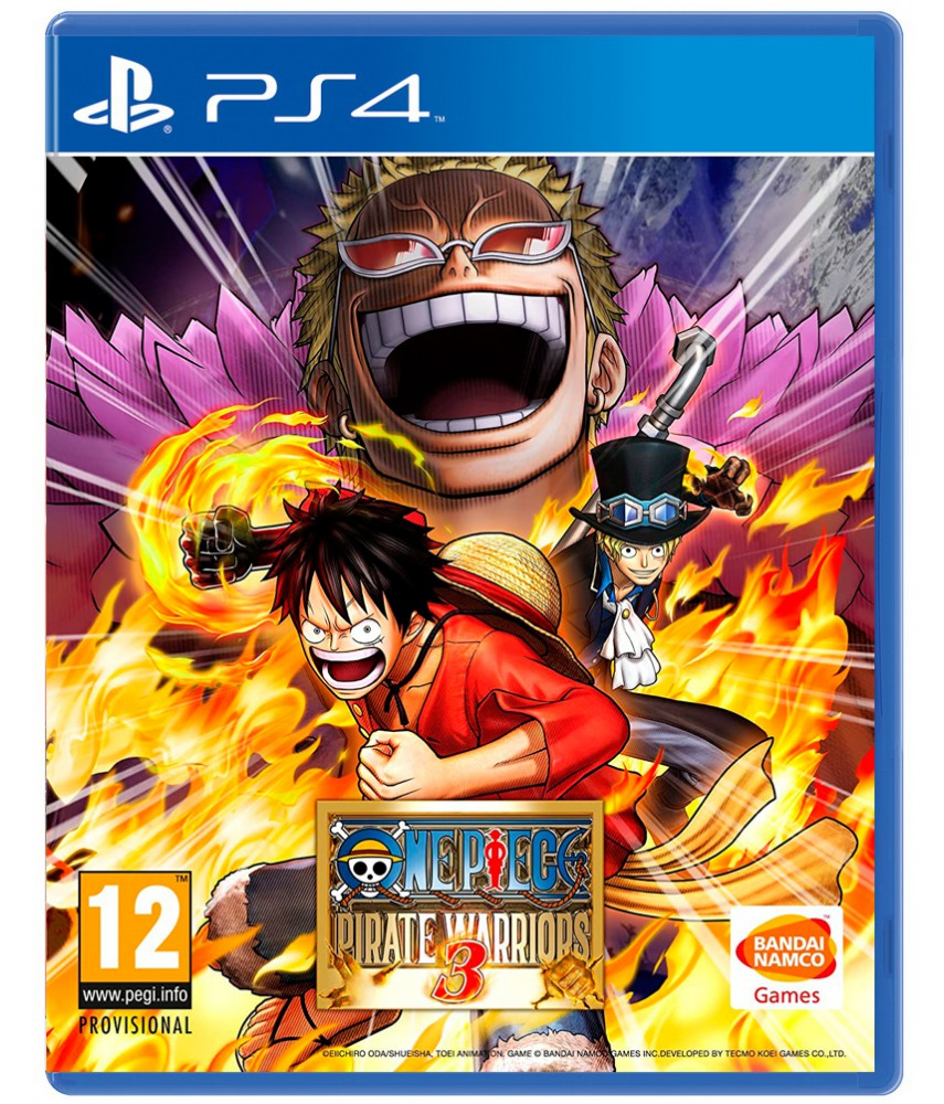 One Piece Pirate Warriors 3 [PS4]