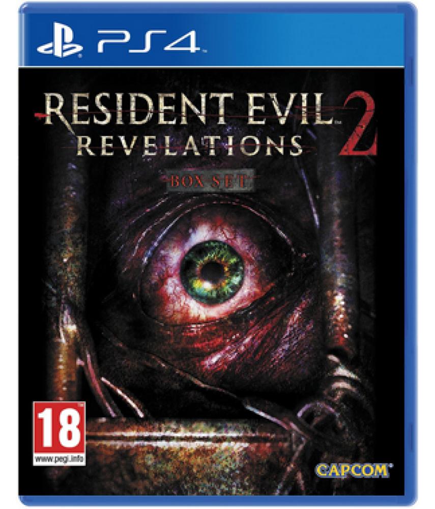 Resident Evil Revelations 2 (Русские субтитры) [PS4]