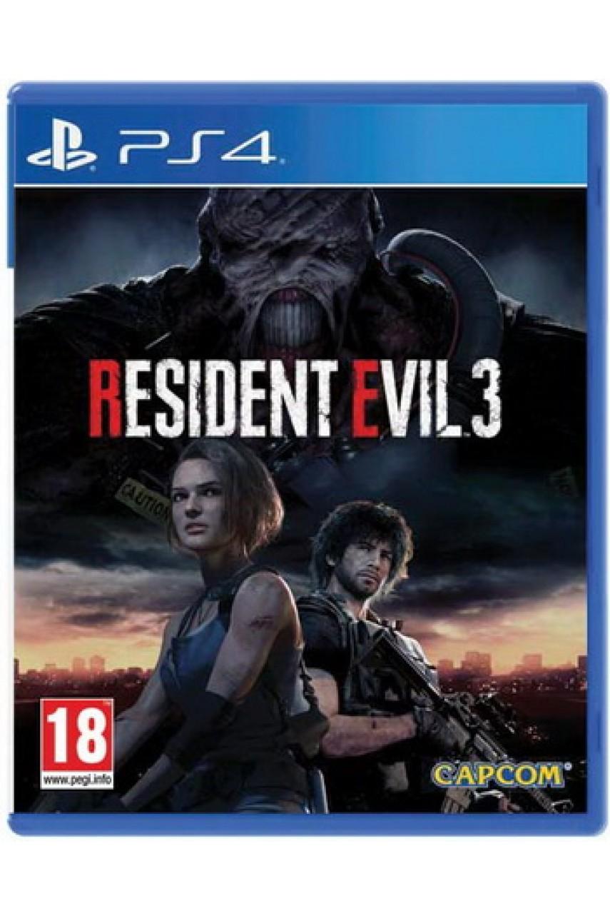 Resident Evil 3 Remake (Русские субтитры) [PS4]