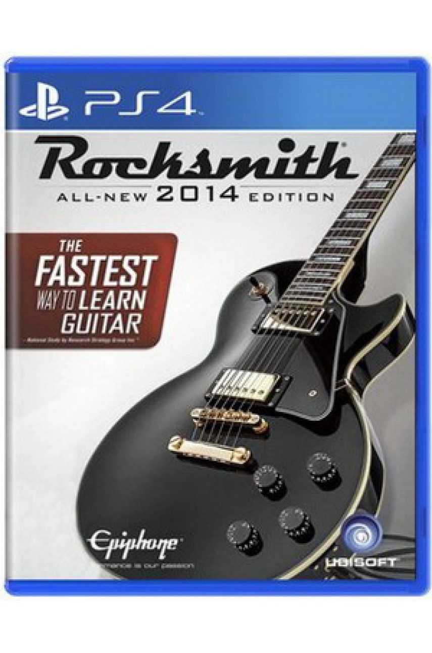 Rocksmith All-New 2014 Edition [PS4]