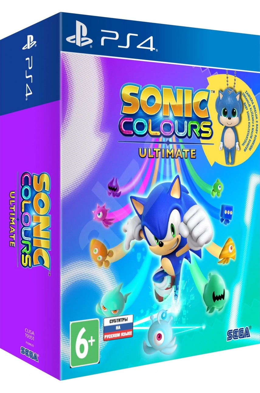 Sonic Colors: Ultimate Day One Edition (Русская версия) [PS4]