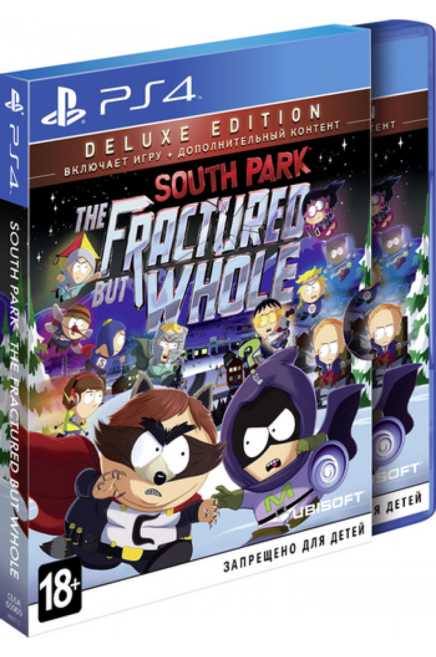 PS4 Игра South Park: The Fractured but Whole Deluxe Edition с русскими субтитрами для Playstation 4 - Б/У