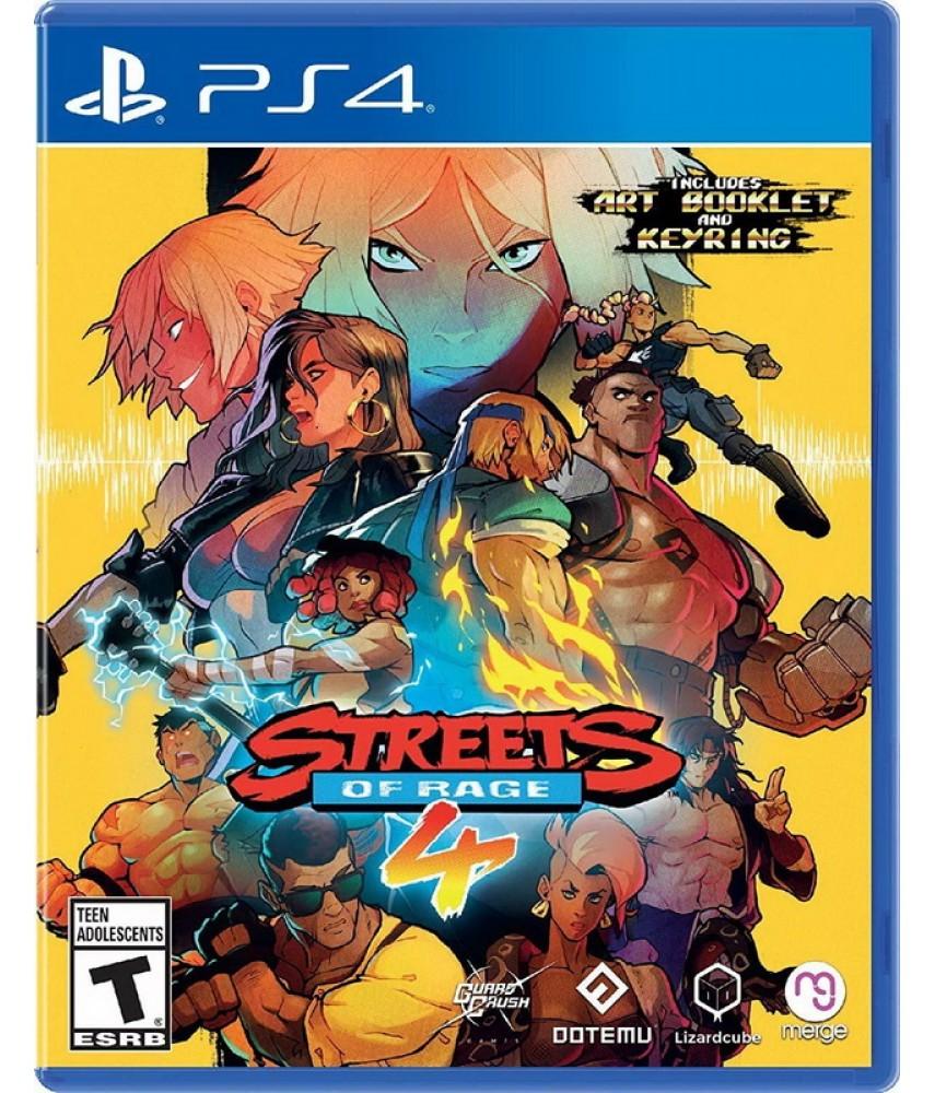 Street of Rage 4 (Русские субтитры) [PS4] (US ver.)
