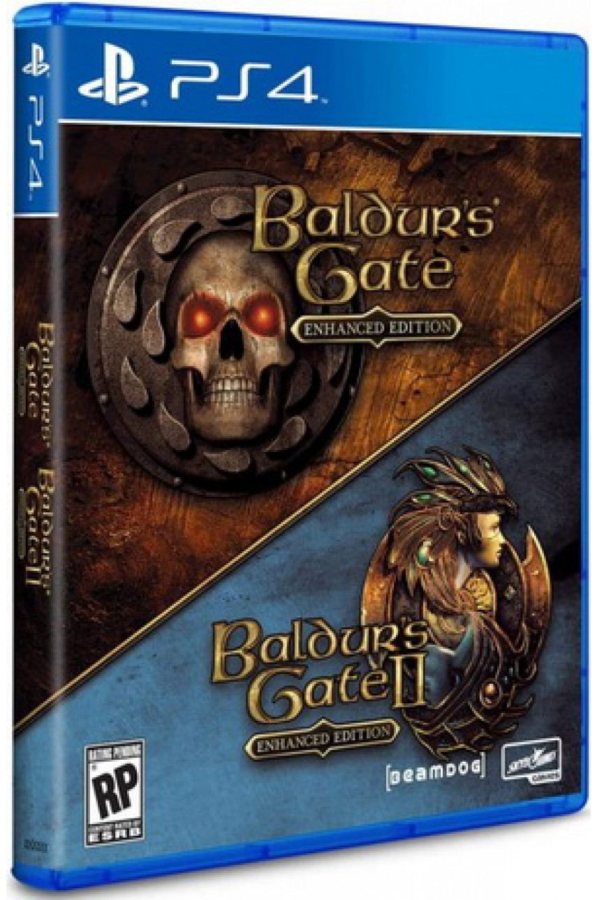 Baldurs Gate Enhanced Edition (Русская версия) [PS4]