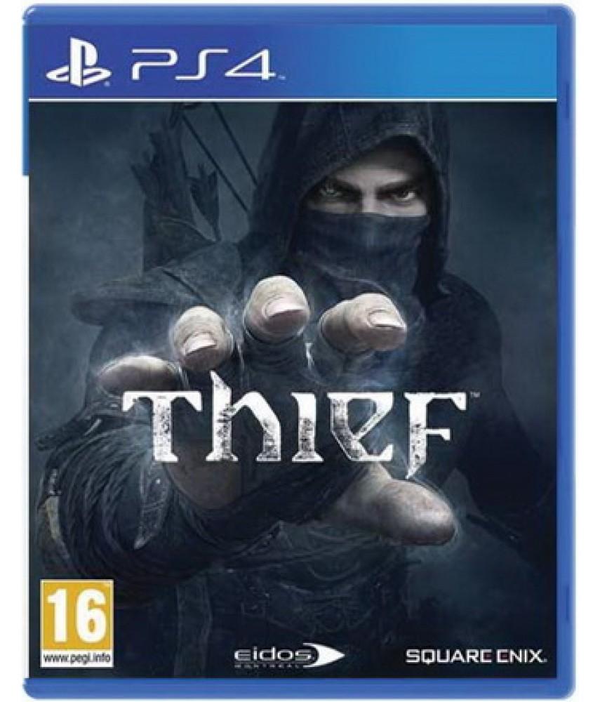 Thief (Русская версия) [PS4] - Б/У