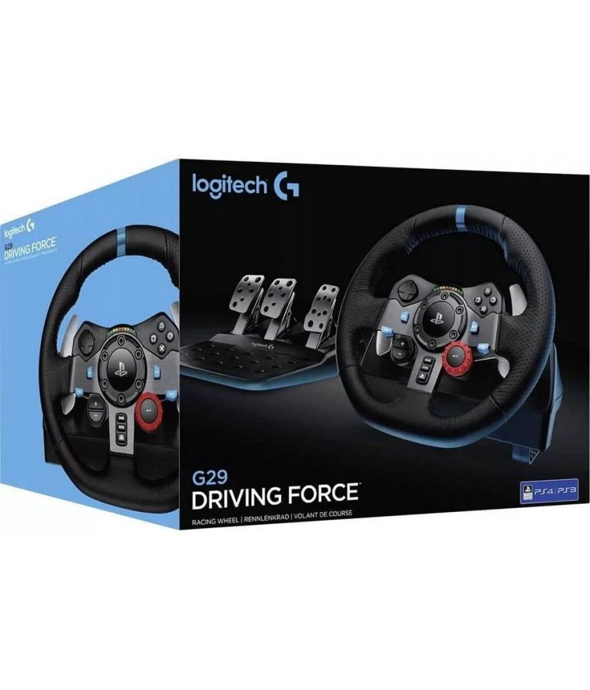 Руль Logitech G29 Driving Force для PS4, PS3, PC