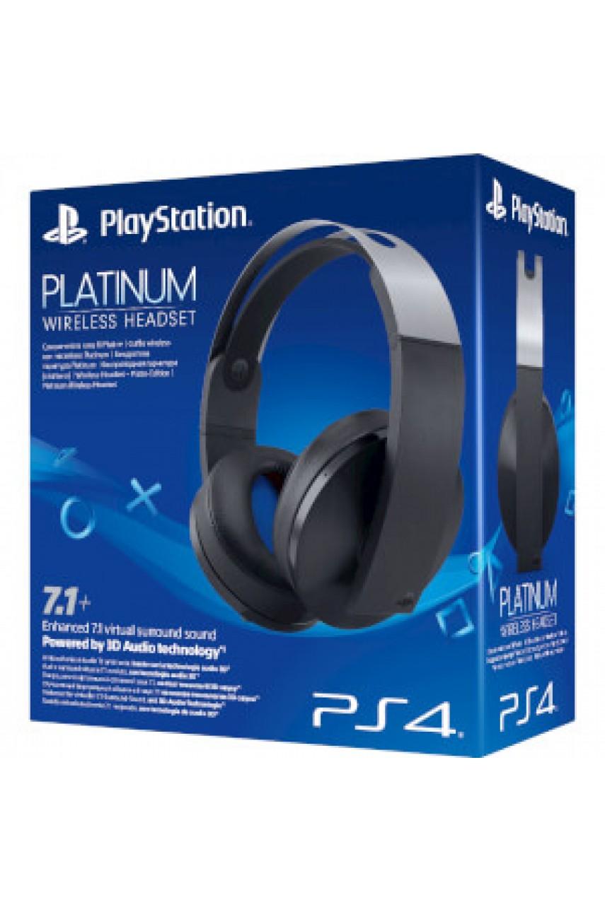 Sony PS4 Platinum Wireless Headset - беспроводная гарнитура 7.1