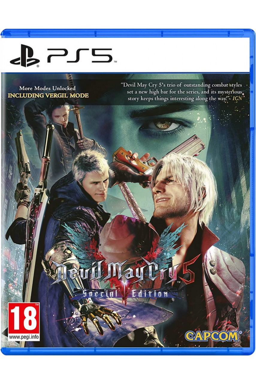 Devil May Cry 5 Special Edition (Русские субтитры) [PS5]