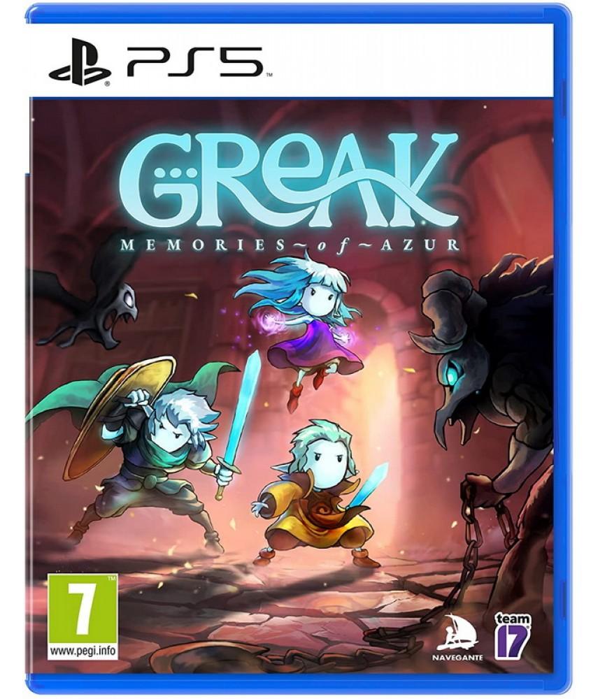 Greak: Memories of Azur (Русская версия) [PS5]