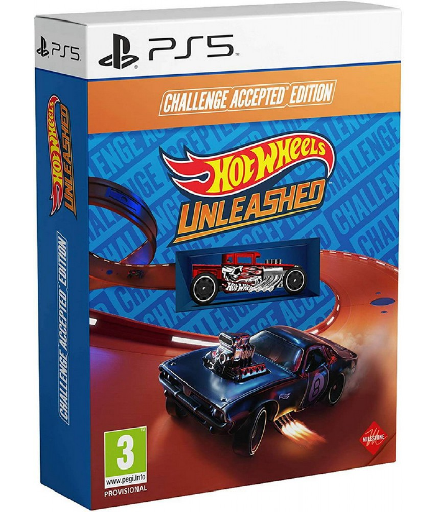 PS5 игра Hot Wheels Unleashed - Challenge Accepted Edition (Русская версия)