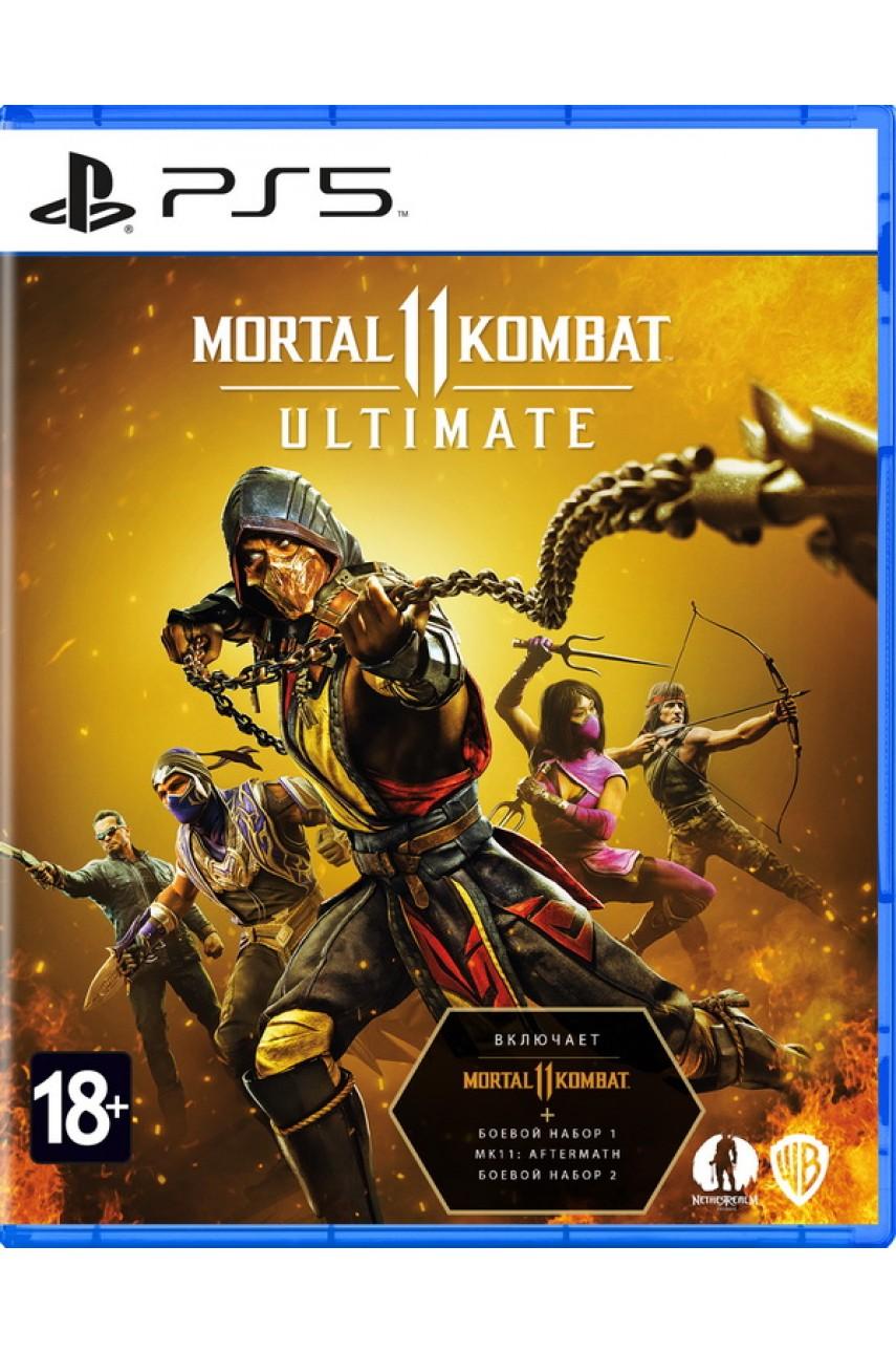 Mortal Kombat 11 Ultimate (Русские субтитры) [PS5]