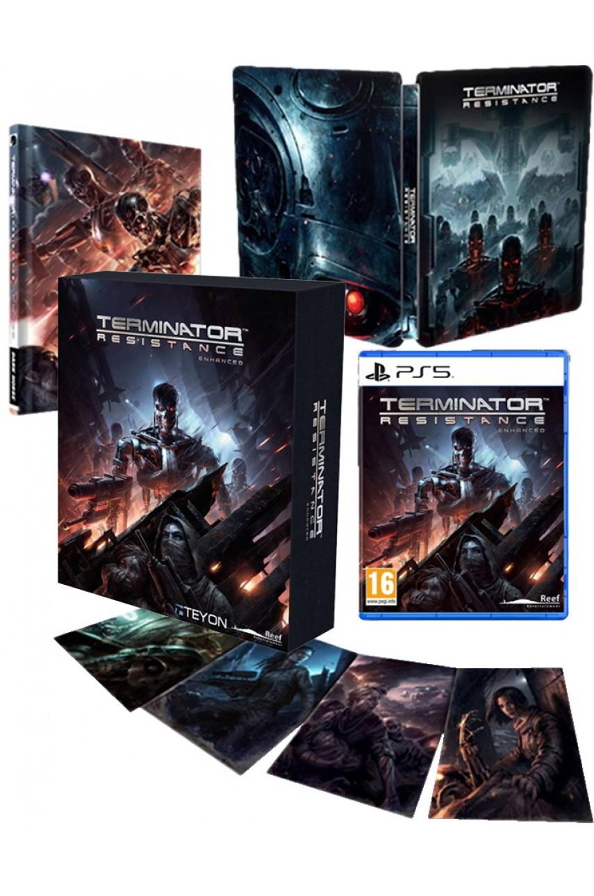 PS5 игра Terminator: Resistance Enhanced Collector's Edition (Русские субтитры)