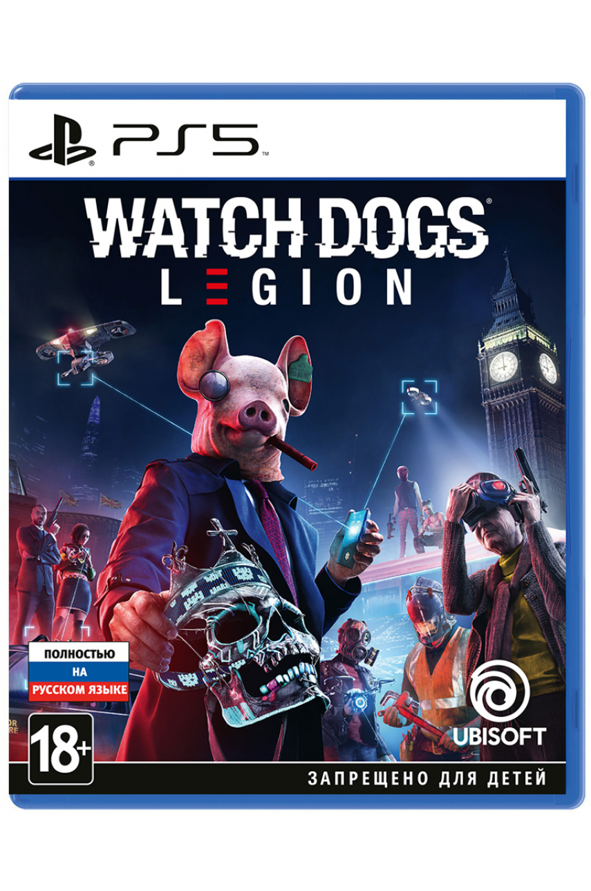 Watch Dogs Legion (Русская версия) [PS5]
