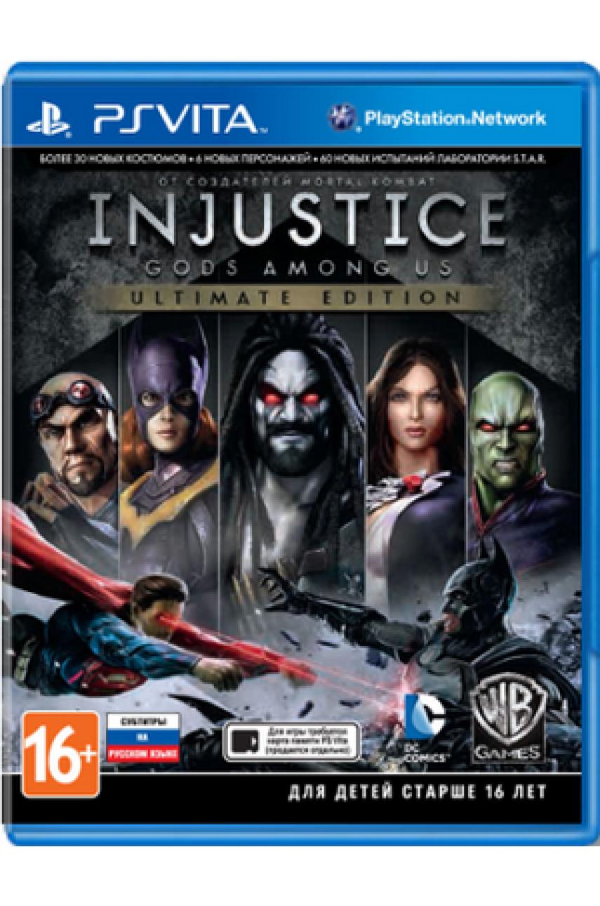 Injustice Gods Among Us - Ultimate Edition (Русские субтитры) [PS Vita]