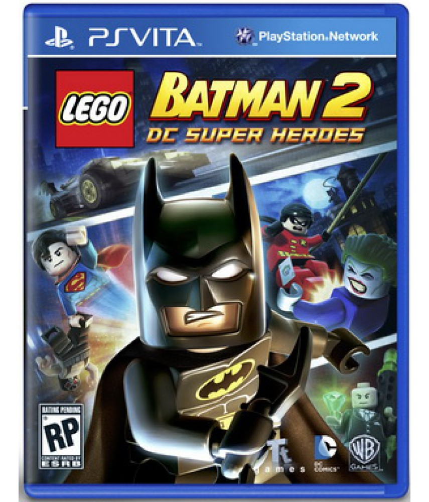 LEGO Batman 2: DC Super Heroes (Русские субтитры) [PS Vita]