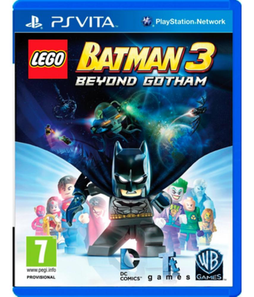 LEGO Batman 3: Beyond Gotham [Покидая Готэм] (Русские субтитры) [PS Vita]