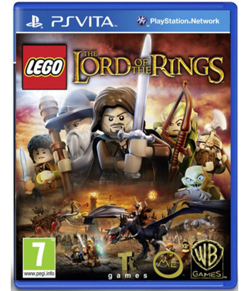 LEGO Властелин колец (Русские субтитры) [PS Vita]