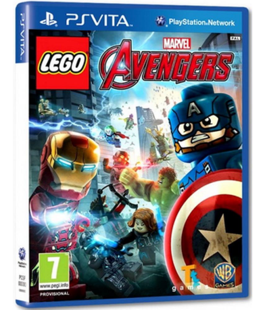 LEGO Marvel Мстители (Русские субтитры) [PS Vita]