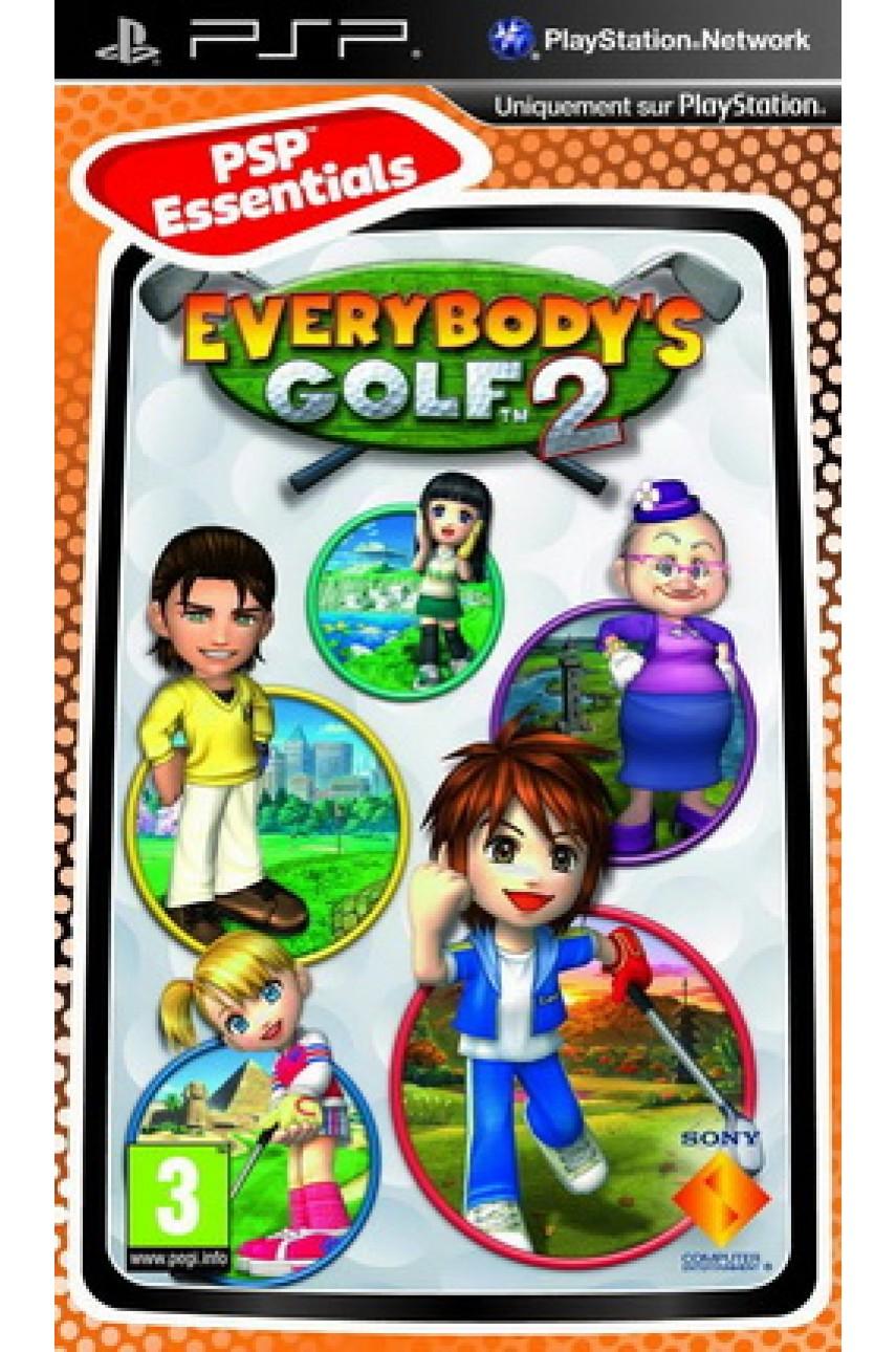 Everybody's Golf 2 [PSP]