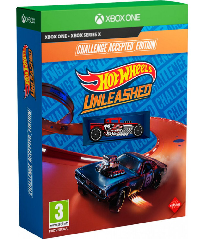 Xbox One   Series X игра Hot Wheels Unleashed - Challenge Accepted Edition (Русская версия)
