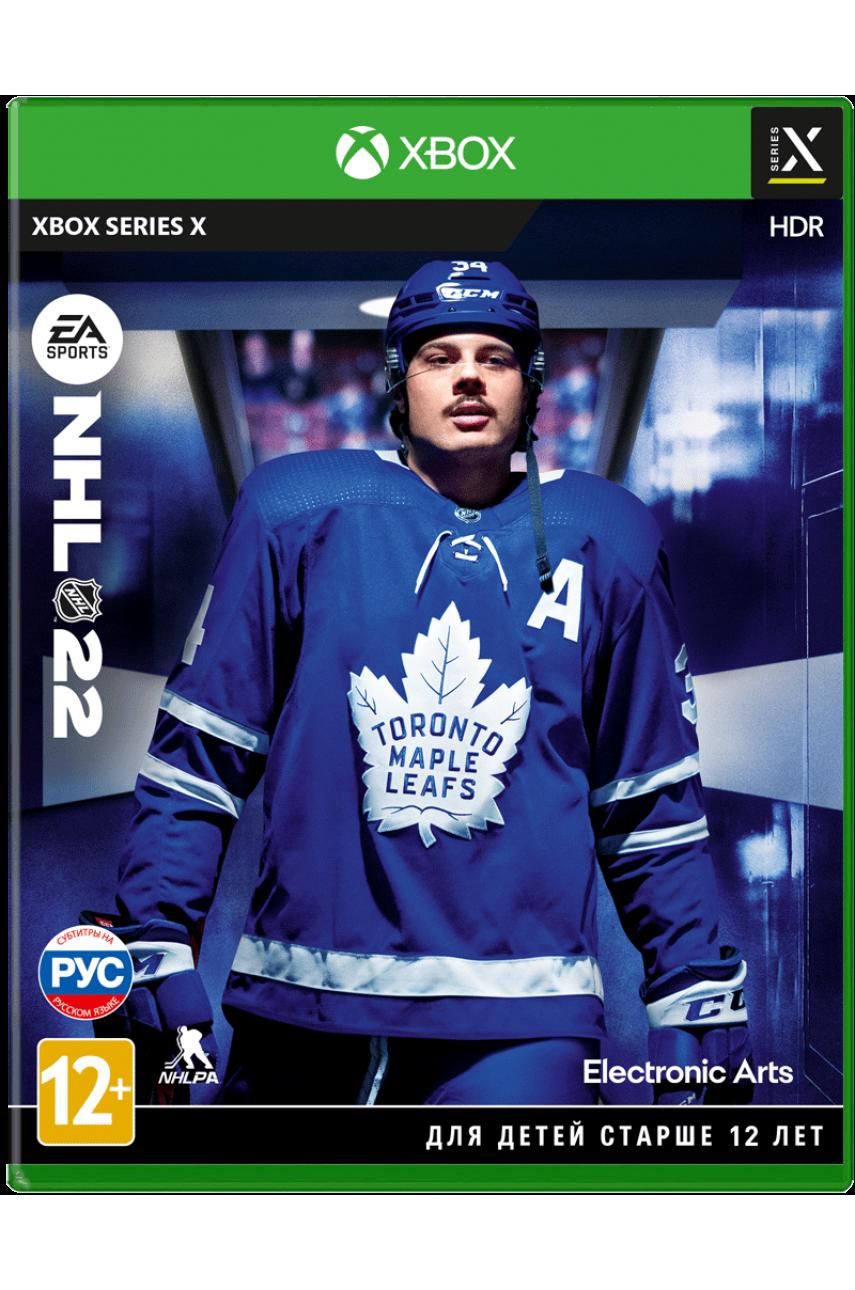 NHL 22 (Русская версия) [Xbox Series X]