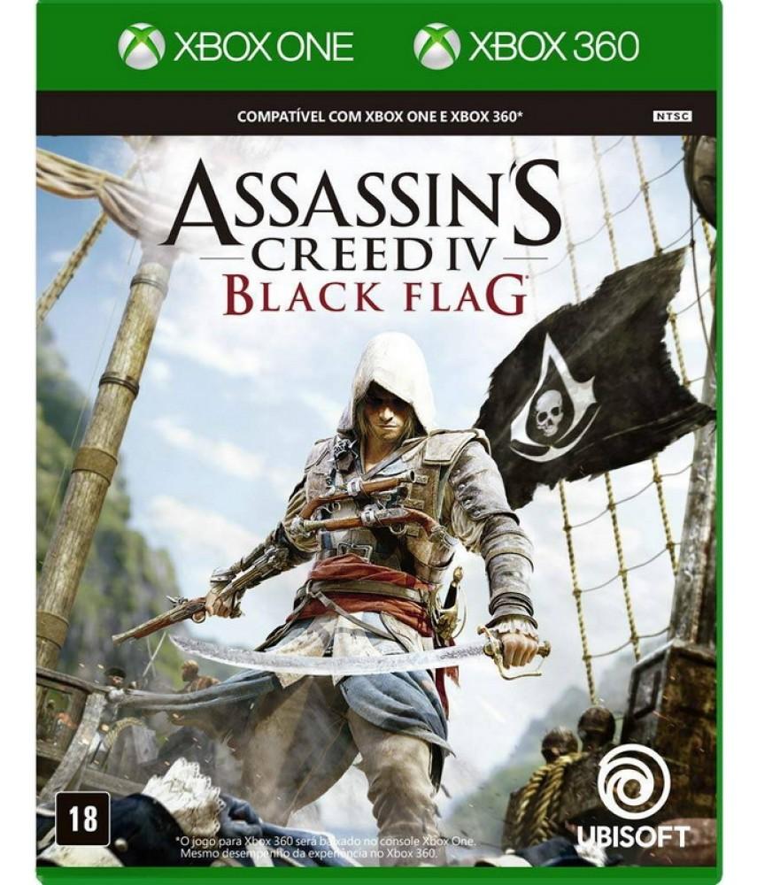 Assassin's Creed 4 (IV) Черный Флаг (Black Flag) [Xbox 360] (совместимость с Xbox One) (US ver.)
