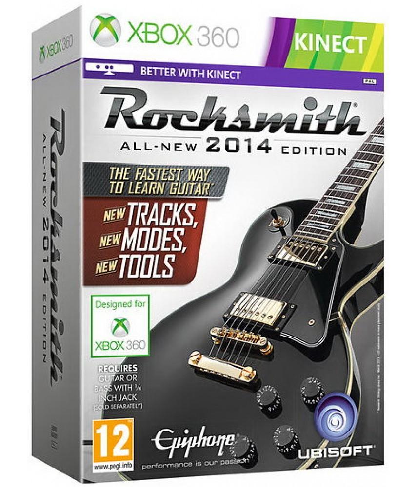 Rocksmith 2014 Edition - игра + кабель [Xbox 360]