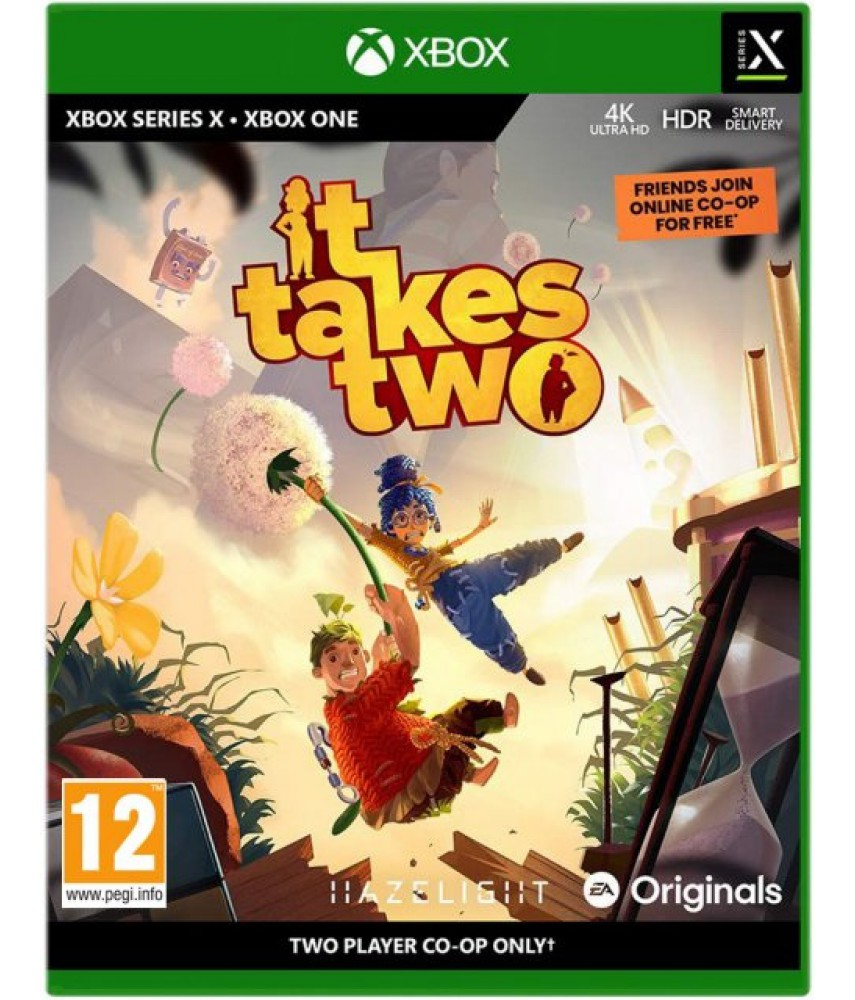 It Takes Two (Русские субтитры) [Xbox One, Series X]
