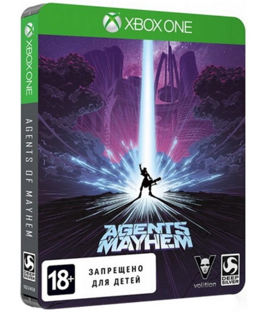Agents of Mayhem Steelbook Edition (Русские субтитры) [Xbox One]