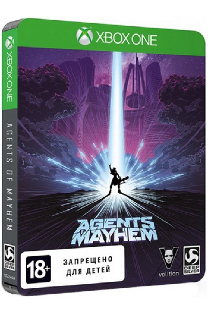 Agents of Mayhem Steelbook Edition (Русские субтитры) [Xbox One]
