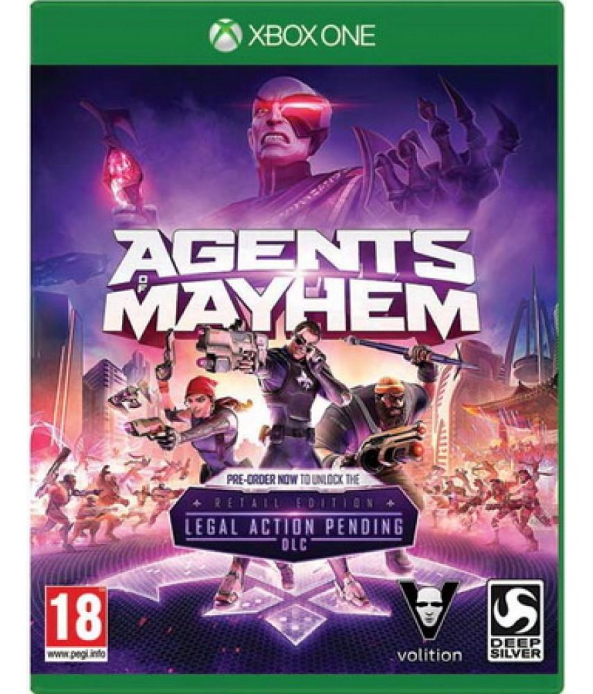 Agents of Mayhem (Русские субтитры) [Xbox one]
