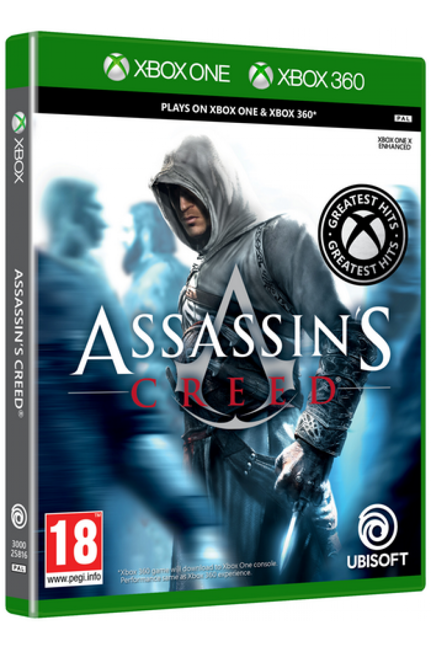 Assassin's Creed [Xbox 360] (совместимость с Xbox One)