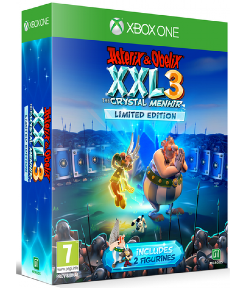 Asterix and Obelix XXL 3 - The Crystal Menhir Limited Edition (Русская версия) [Xbox One]