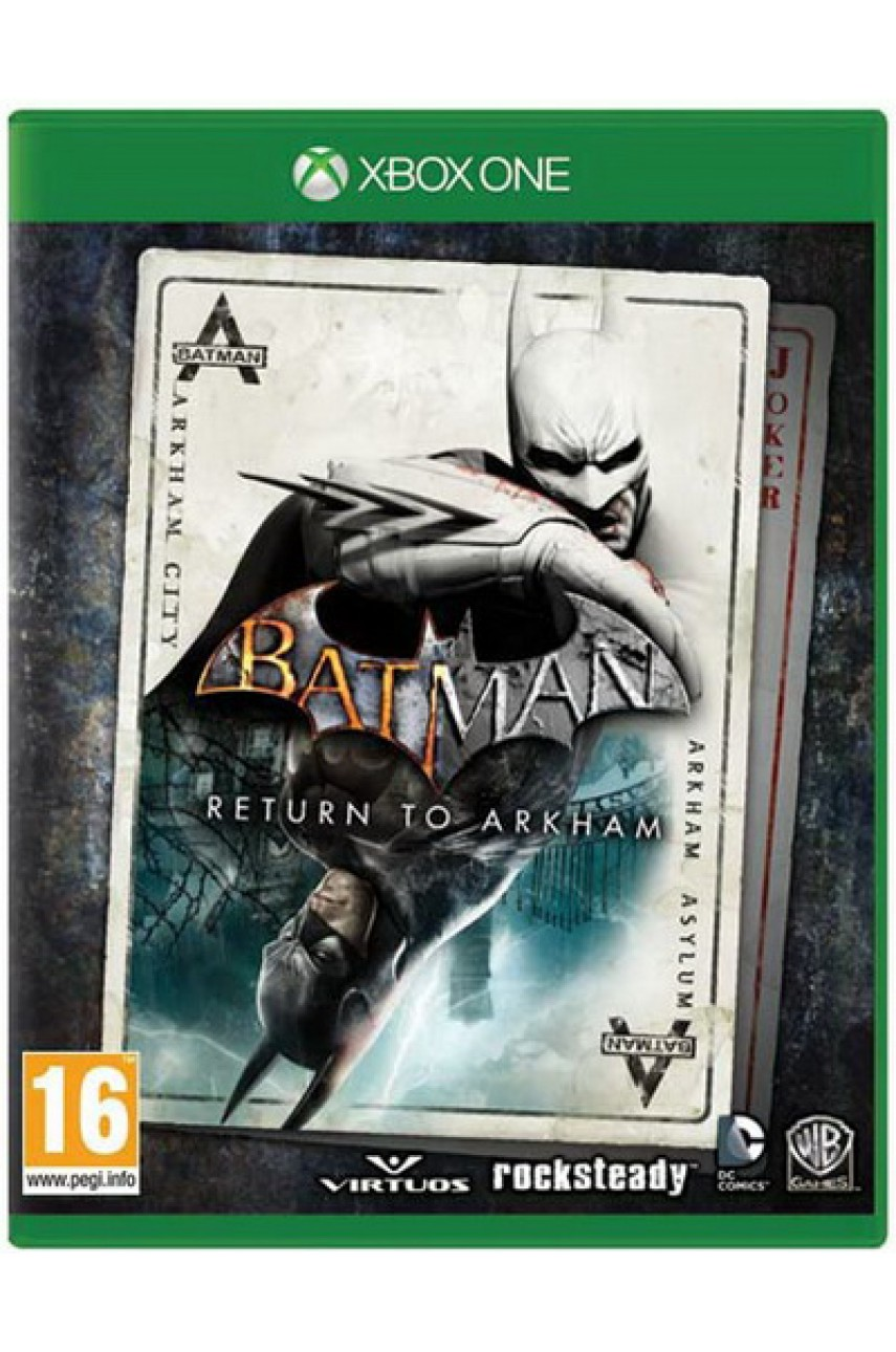 Batman: Return to Arkham (Русские субтитры) [Xbox One]
